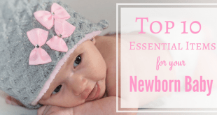 Essential newborn baby items