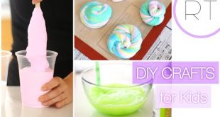 Fun DIY kids crafts