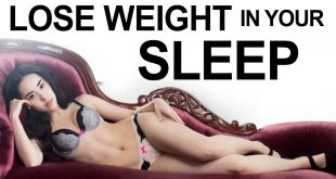 How to burn fat and lose weight in your sleep