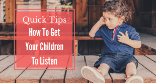 How to get your children to listen