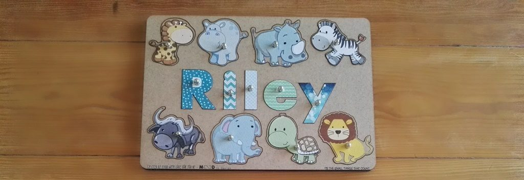 Personalized Name Puzzle for Toddlers