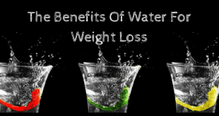 The Benefits for Water for Weight Loss