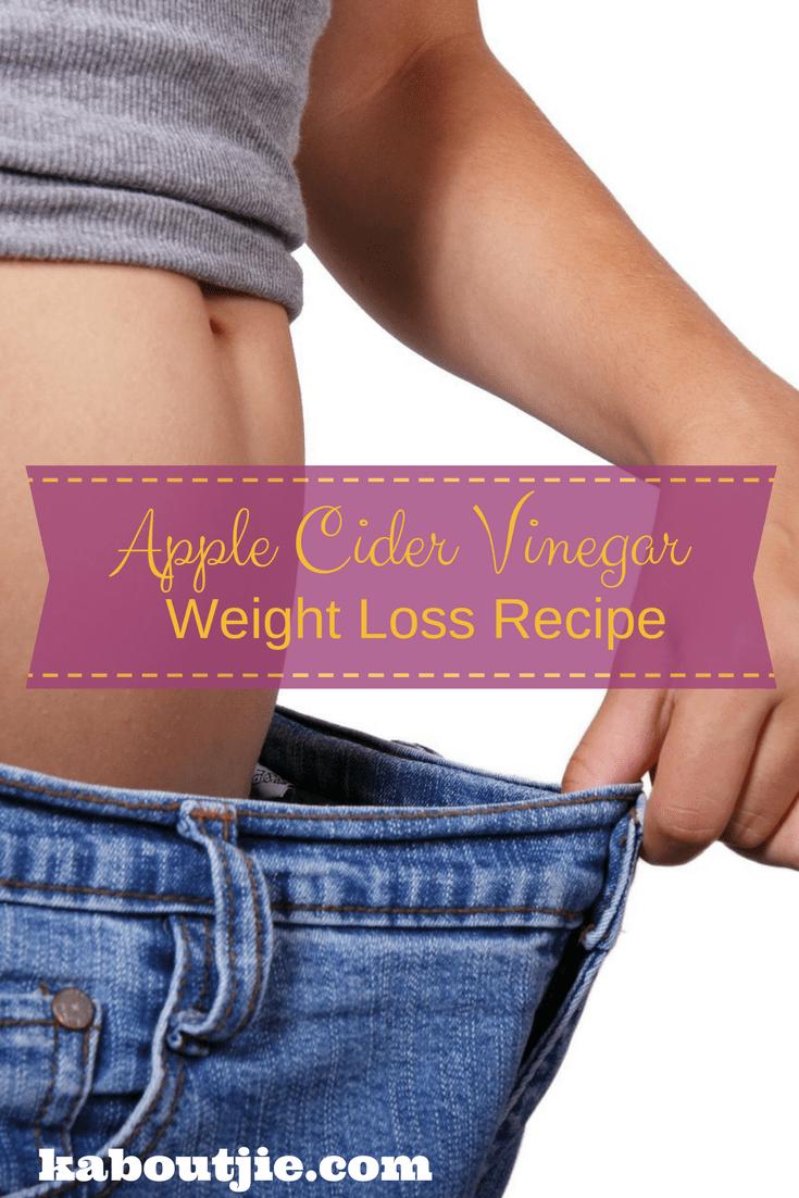 Apple Cider Vinegar Weight Loss Recipe