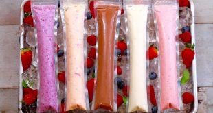 Frozen yogurt pops 5 easy snacks