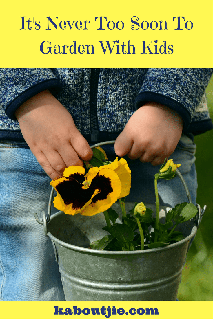 It's Never Too Soon To Garden With Kids