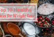 Healthy spices for weight loss