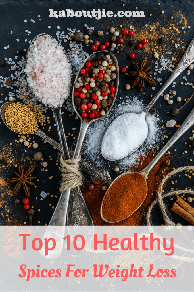10 Healthy Spices For Weight Loss