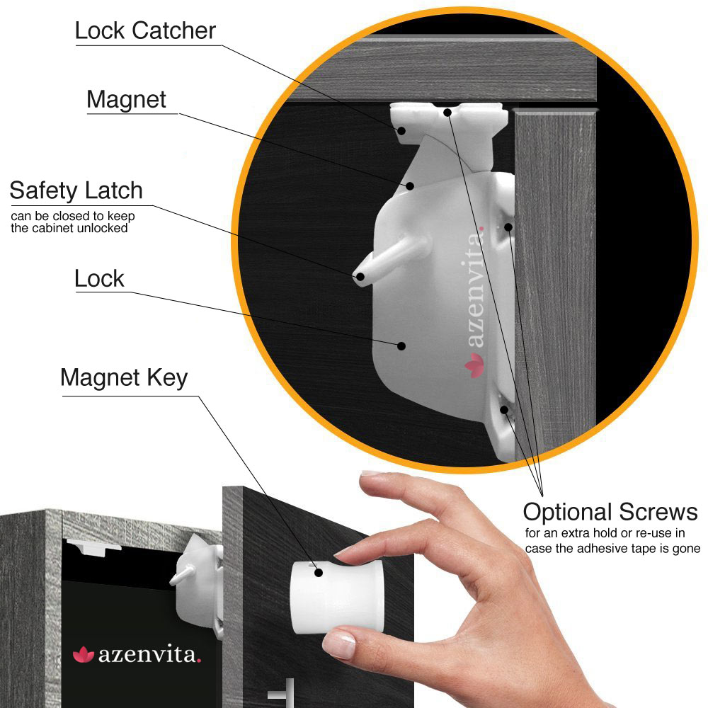 High Quality magnetic child safety lock
