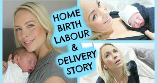 Labour Delivery natural three hour home birth
