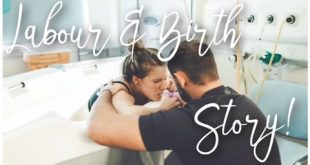Live Labor and Natural Water Birth Vlog