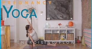 Pregnancy yoga energising flow