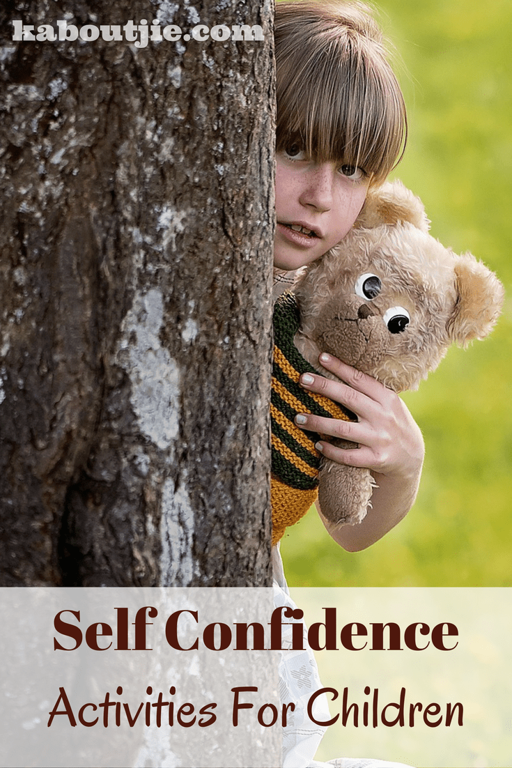 Self-Confidence Activities For Kids