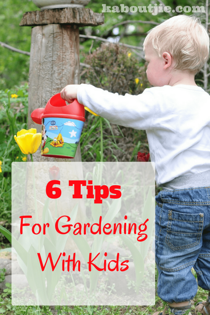 6 Tips for Gardening with Kids