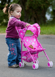 Baby doll stroller first birthday gift ideas