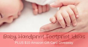 Baby Handprint Footprint Ideas