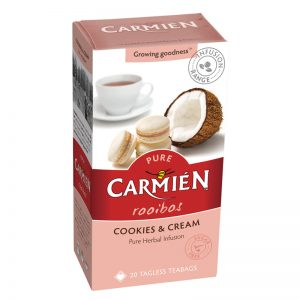 Carmien Tea Review - cookies and cream tea