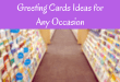 Greeting Cards Ideas for Any Occasion