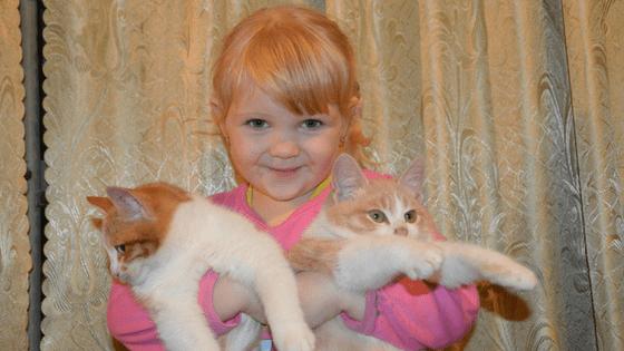 Having pets teaches children compassion