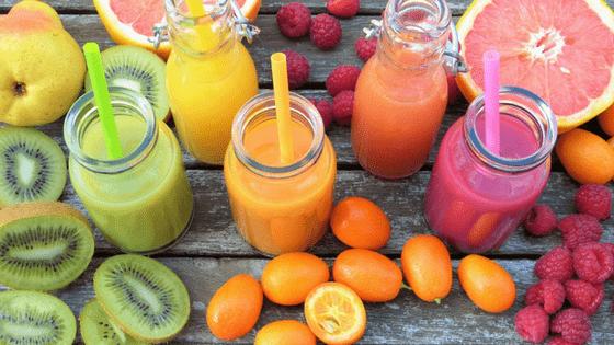 Health benefits kiwi fruit juicing