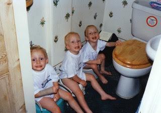 Potty Training Triplets