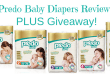 Predo Baby Diapers Review PLUS Giveaway!