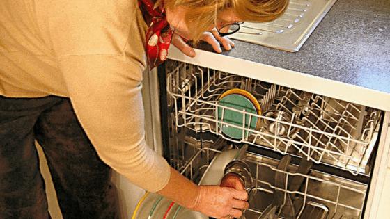 Check dishwasher regularly for leaks