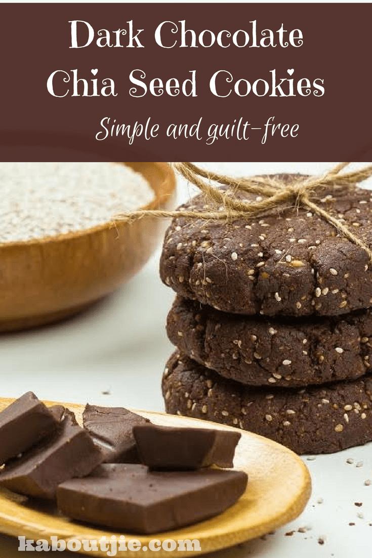 Dark chocolate and chia seed cookies pind RK
