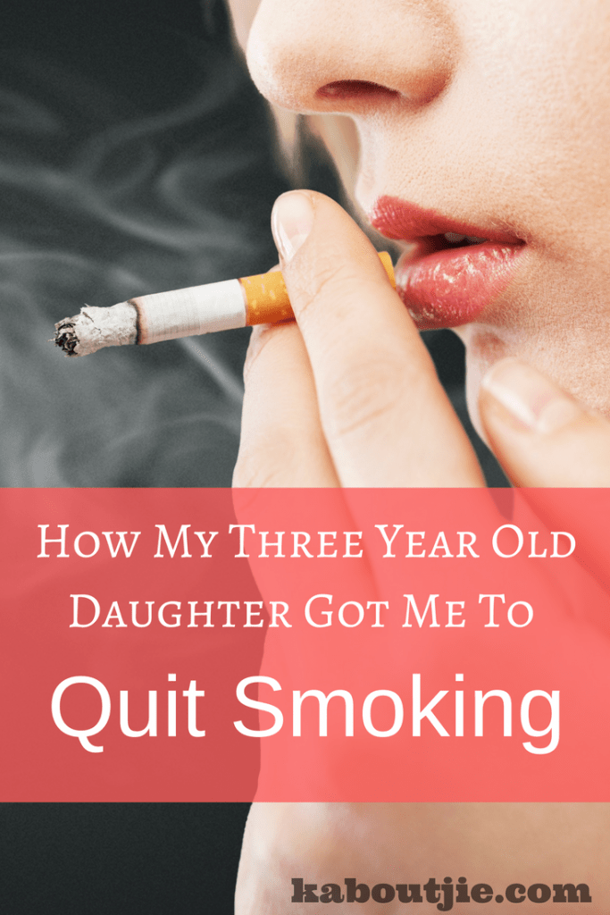How my three year old daughter got me to quit smoking pin