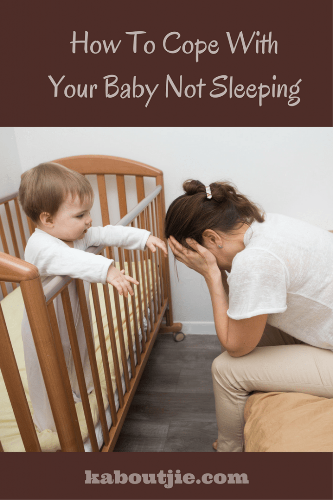 How To Cope With Your Baby Not Sleeping
