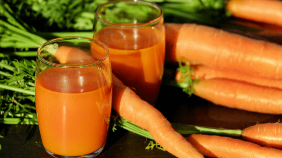 Tropical carrot apple juice