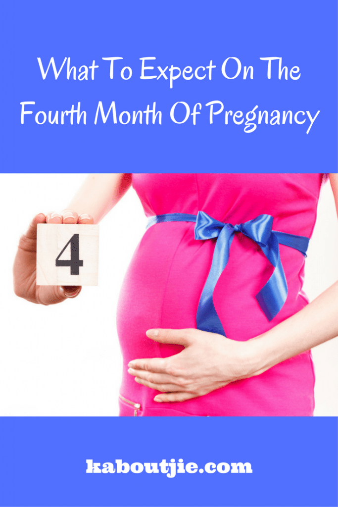 What To Expect On The Fourth Month Of Pregnancy