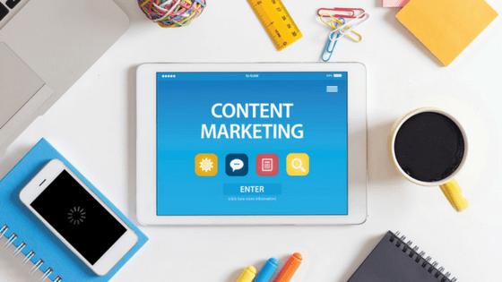 Blogging content marketing