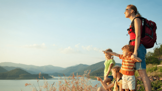 Go for a family hike