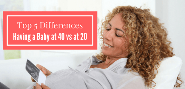 Having a baby at 40 vs at 20