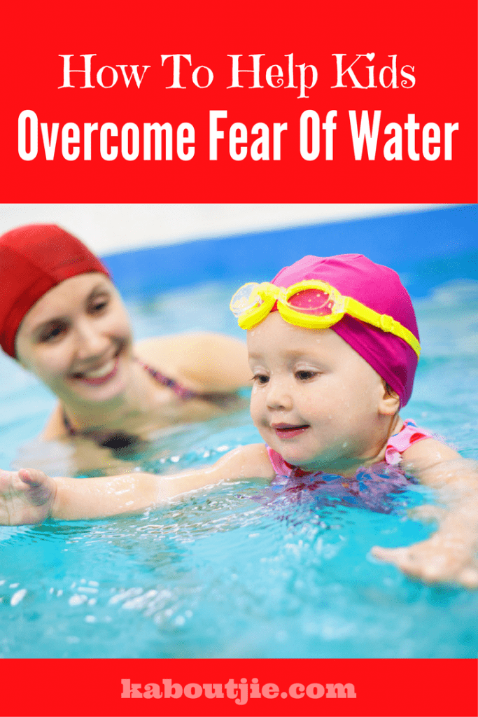 How to help child afraid of water