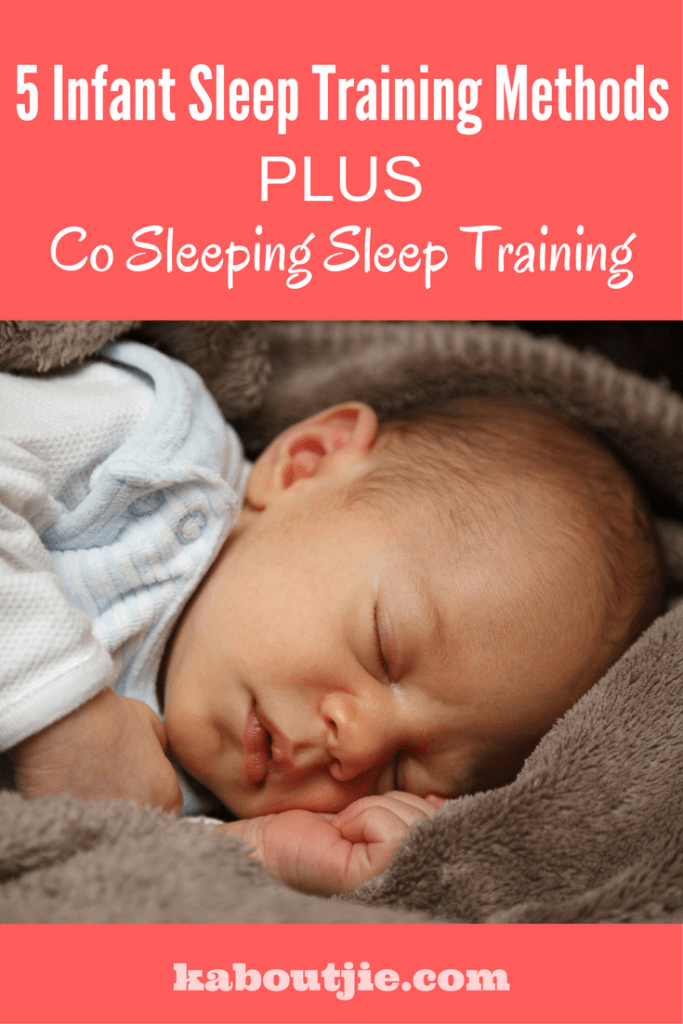 Infant sleep training methods co sleeping