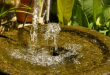 Installing an indoor water fountain