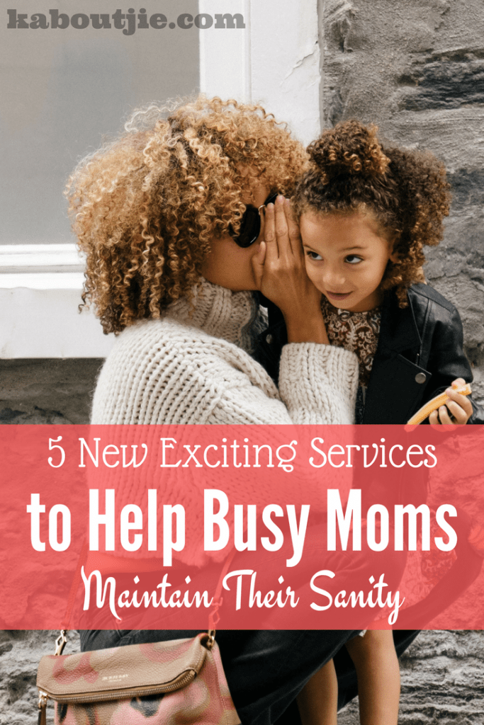 Services to help busy moms pin
