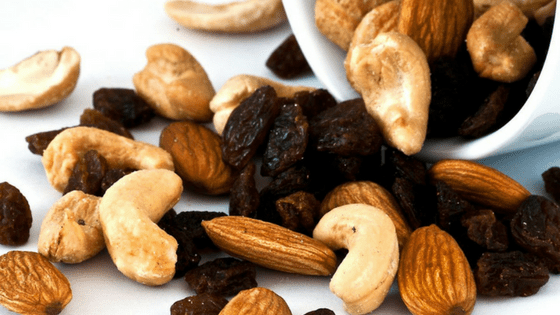 Trail mix healthy protein snacks