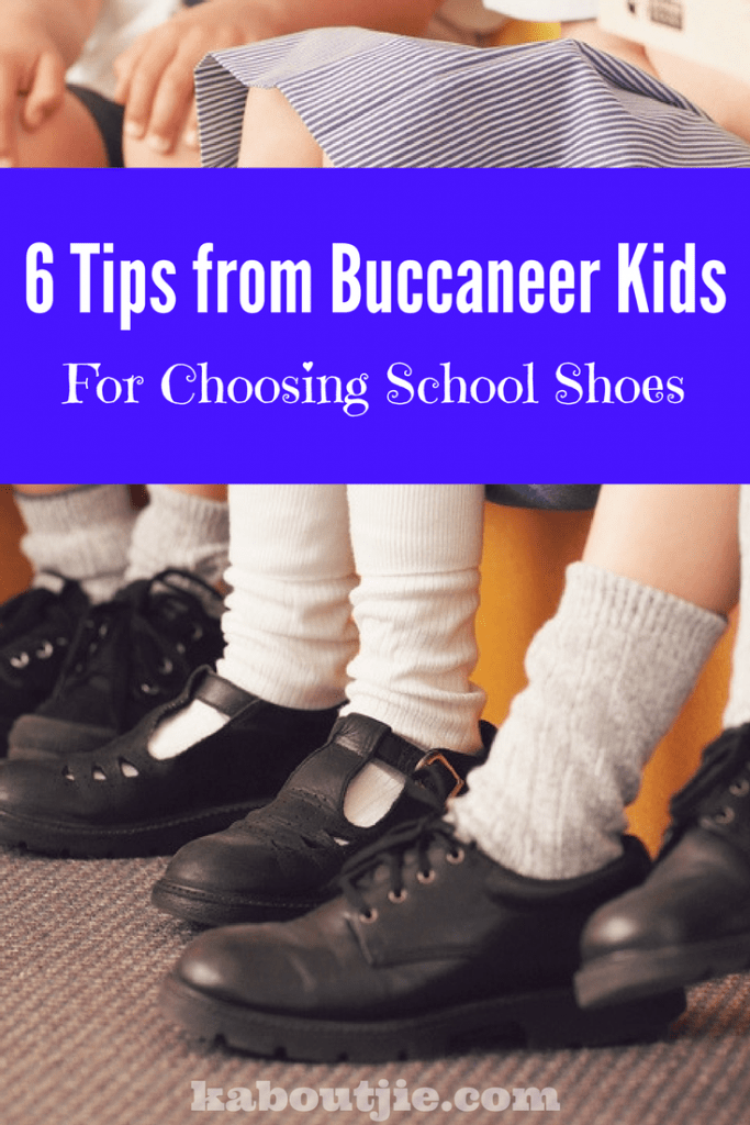 Choosing school shoes