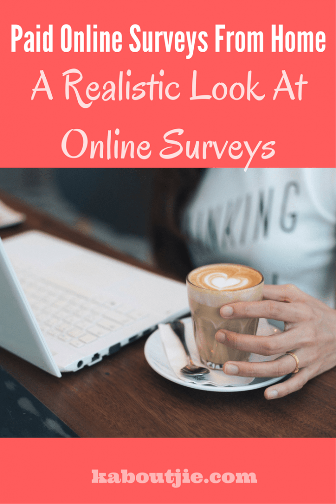 Paid online surveys from home pinterest