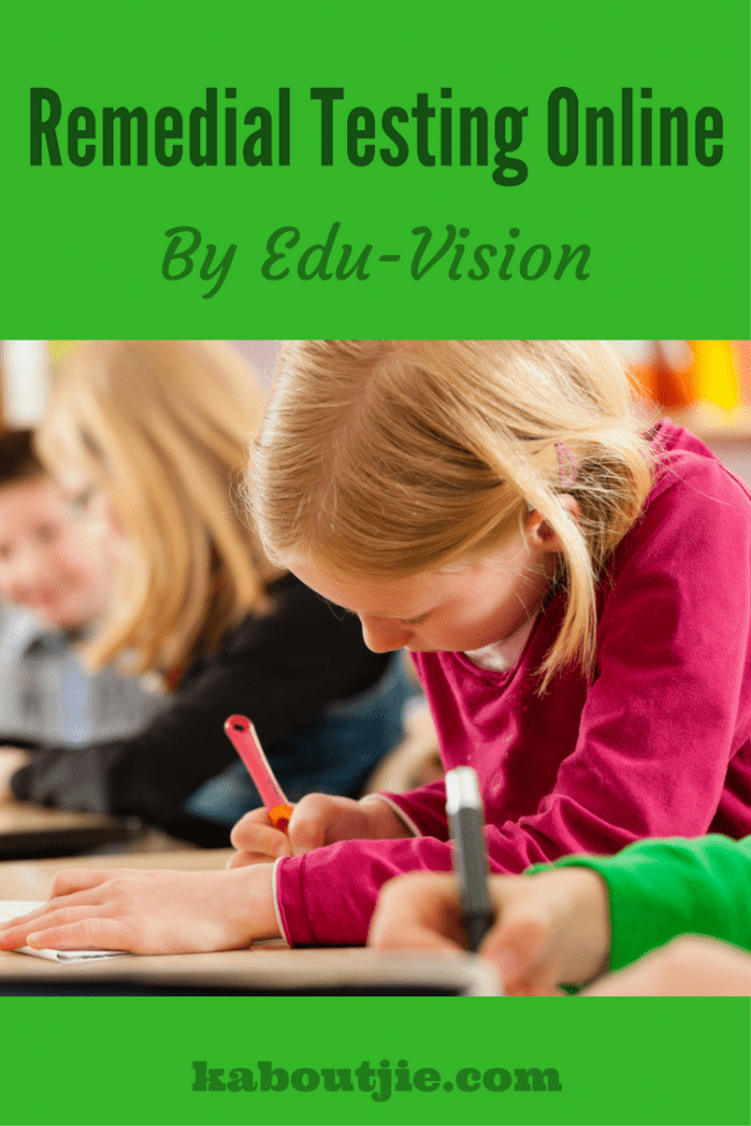 Remedial testing online by Edu-Vision