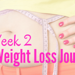 Week 2 my weight loss journey
