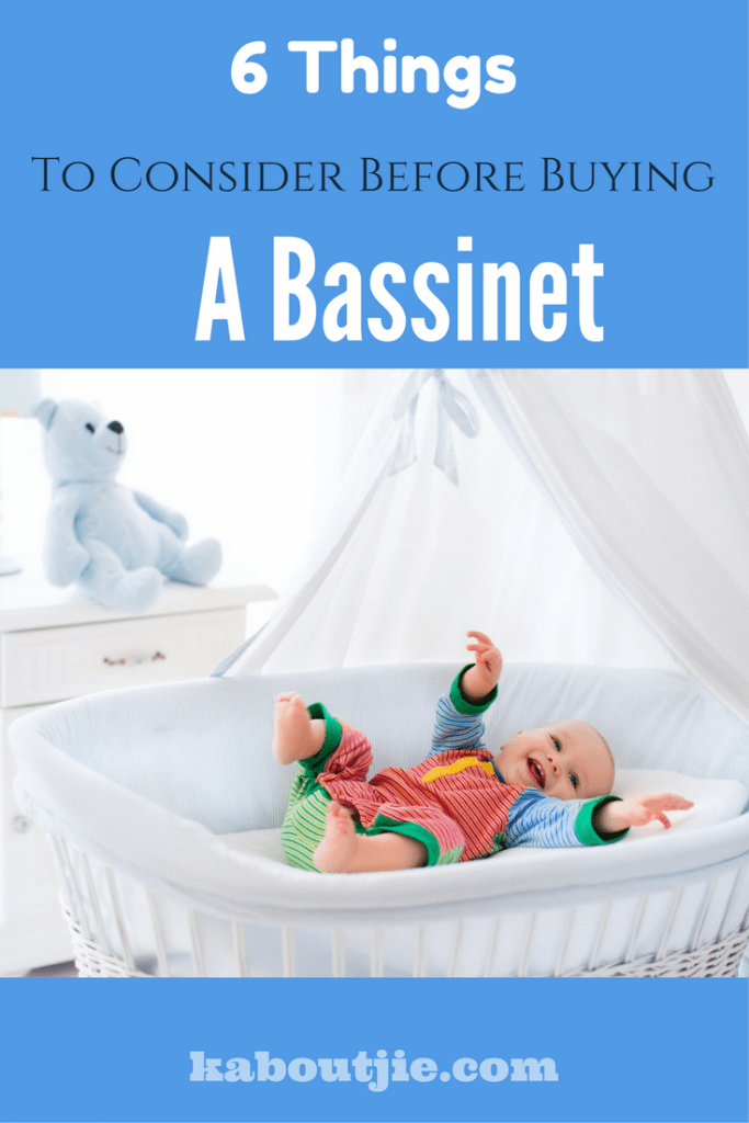 6 Things to consider before buying a bassinet