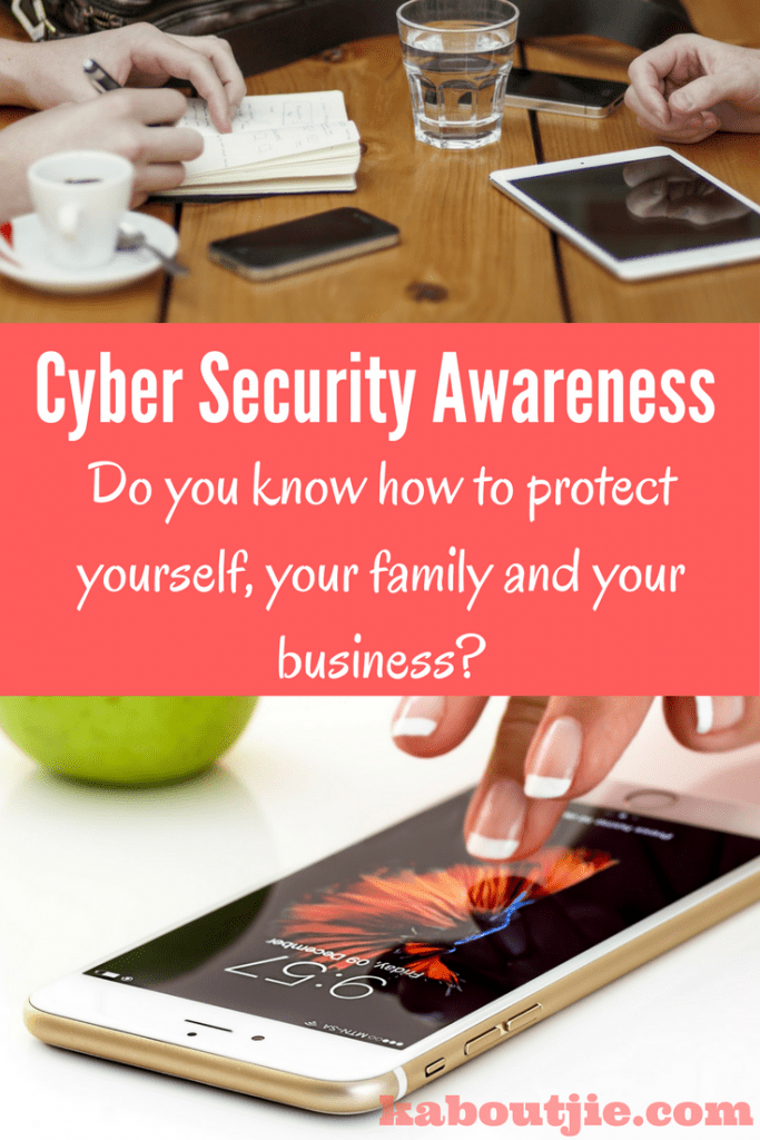 Cyber security awareness for business
