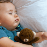 Toddler boy sleeping