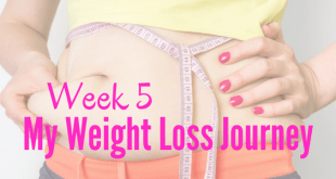 Week 5 my weight loss journey