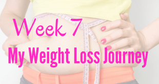 Week 7 my weight loss journey