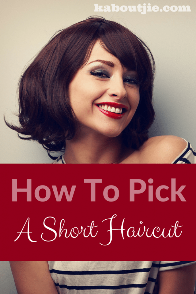 How to pick a short haircut