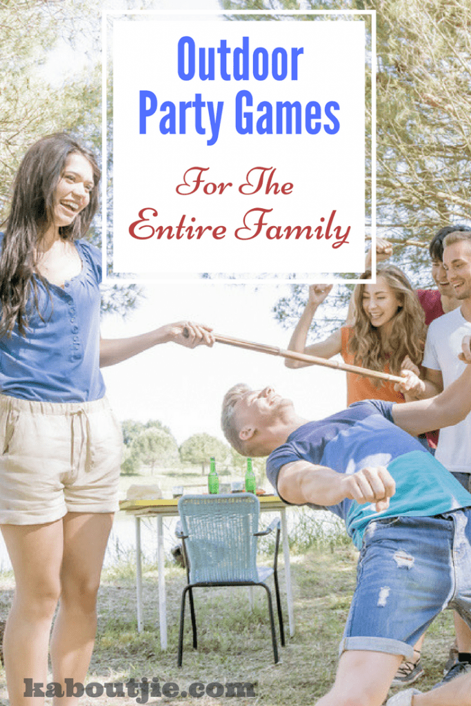 Outdoor party games family